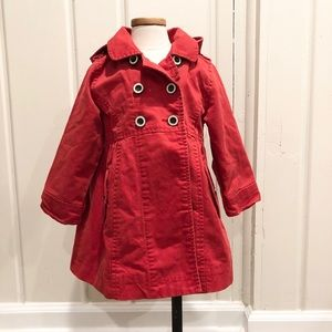 Adorable Red Canvas Baby Gap Jacket size 2